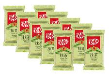 10 x KITKAT Green Tea Matcha Chocolate Bars Inspired by Japan 41.5g 1.46oz