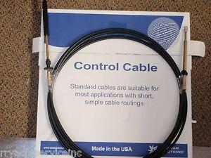 JOHNSON EVINRUDE OMC CONTROL CABLE TELEFLEX CC20512 12FT SHIFT OR THROTTLE CABLE