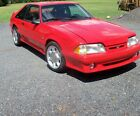 1993 Ford Mustang COBRA 1993 Ford Mustang COBRA , Red with black cloth interior.