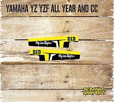 Yamaha YZ YZF 85 125 250 450 Swingarm Gráficos Pegatinas Calcomanías - - Mx-Amarillo
