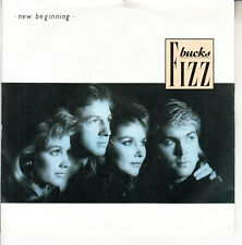 "BUCKS FIZZ  New Beginning (Mamba Seyra) PICTURE SLEEVE 7"" 45 rpm record NEW"