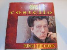 ELVIS COSTELLO Punch the clock AUTOGRAPHED LP