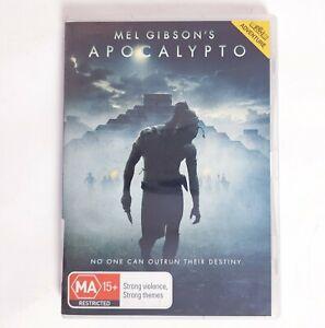 Apocalypto Movie DVD Region 4 AUS - Action Adventure Mel Gibson