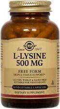 L-Lysine 500mg Solgar 50 VCaps