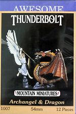 Thunderbolt Mountain Miniatures-Awesome Enterprises-54mm Archangel & Dragon