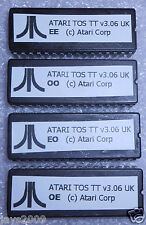 ATARI TT TOS ROMS v3.06 - 4X CHIP COMPUTER UPGRADE - VARIOUS LANGUAGES AVAILABLE