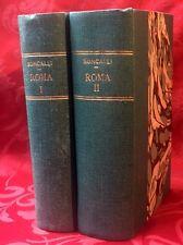 Libro Roma Storia Unità d'Italia Studio Storico Diario Inedito Roncalli 1884