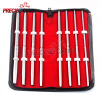 Surgical PRATT DILATOR Sounds Set OF 8 Pcs Dual-Ended STRAIGHT BY Precise Canada