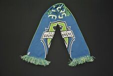 Adidas Seattle Sounders FC Soccer Game Scarf Teal Green Blue MLS