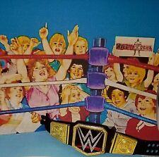WWE Mattel Elite World champion title belt smackdown wrestling  figure Accessory