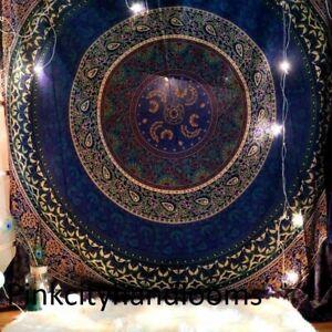 Indian Mandala Tapestry Bohemian Wall Hanging Hippie Bedspread Ethnic Twin Throw