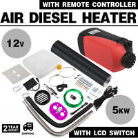 5KW 12V Air Diesel Heater Remote Controller Wiring Bundle Motorhome Screws