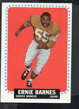 1964 Topps Football Card #48 Ernie Barnes-Denver Broncos