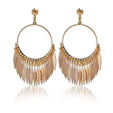 Women Earrings 18K Yellow Gold Filled New Fashion Exaggerate Dangle Hot