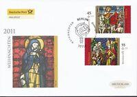 BRD 2011 Deutsche Post FDC MiNr. 2895-2896  Weihnachten