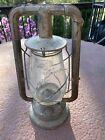 Antique Dietz Monarch Lantern With Clear Glass Globe