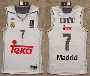 Luka Doncic Jersey Camiseta Canotta Trikot Basketball Dallas Real Madrid
