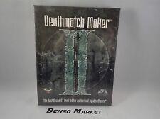 DEATHMATCH MAKER II LEVEL EDITOR QUAKE 2 PC BIG BOX EUR ITALIANO NUOVO SIGILLATO