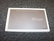 2008 Infiniti G35 G37 Navigation System Owner Owner's Operator User Guide Manual