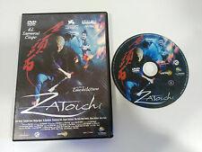 ZATOICHI EL SAMURAI CIEGO DVD + EXTRAS TAKESHI KITANO ESPAÑOL JAPONES