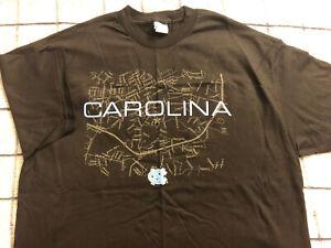 NWOT Vintage UNC North Carolina Tar Heels Black T-Shirt Size L