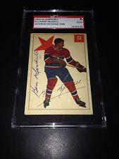 Ken Mosdell Signed 1954-55 Parkhurst Card Canadiens SGC Slabbed #AU138247