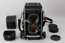 【Exc++++】MAMIYA C330 Pro 6x6 Medium TLR w/ SEKOR DS 105mm F3.5 Hood From Japan