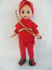 "New ListingMadame Alexander Doll 8"" Tinkles Elf Christmas 1995 #10400 No Arm Tag or Box"
