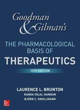 Brunton, Laurence: G&G'S The Pharmacological Basis Of Therapeutics