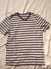 H&M - Organic Cotton Striped T-Shirt  ( Age 13/14 )
