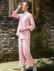 Women Tai Chi Uniforms Chinese Kung Fu  Martial art Clothing Tang fu suit