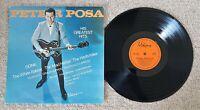 PETER POSA - HIS GREATEST HITS - OZ VIKING LABEL INSTRUMENTAL SURF ROCK LP 1965