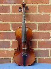 VINTAGE EUROPEAN 3/4  VIOLIN : ANTONIUS STRADIVARIUS CREMONENSIS LABEL 1796
