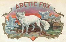 Artic Fox Antique Cigar Box Label T Shirt Small-Xxxlarge (F)
