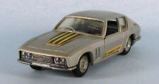 POLITOYS Jensen Interceptor Coupe Vignale (Silver) 1/43 Scale Diecast Model RARE