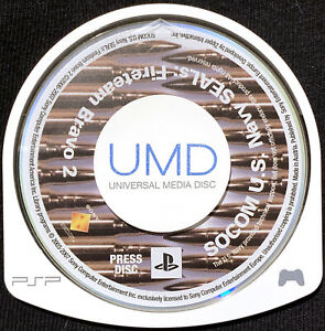 SOCOM U.S. Navy SEALs: Fireteam Bravo 2 Press Disc Promo Not For Re-Sale PSP UMD