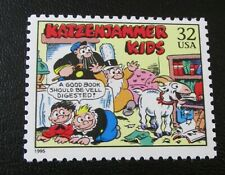 U.S. STAMP--[Single]--KATZENJAMMER KIDS--(1995)--Scott#3000B--<Unused>