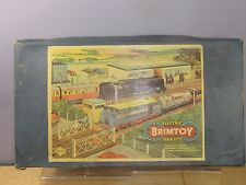 "VINTAGE WELLS / BRIMTOY MODEL No.355 BR ""PASSENGER""  ELECTRIC TRAIN SET VN MIB"