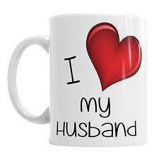 I Love My Husband Birthday Office Valentine Valentine's Valentines Day Mug Gift