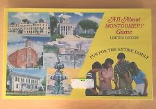 Vintage 1982 All About Town Board Game for Montgomery Alabama - Still Sealed