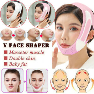 Elastic Face Slimming Bandage V Line Face Shaper Chin Cheek Lift Up Belt Women