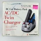 RadioShack RC Car Battery Pack AC/DC Twin Charger New in Box