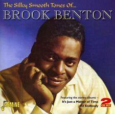 Silky Smooth Tones Of...Brook Benton - 2 DISC SET - Brook Benton (2011, CD NEUF)