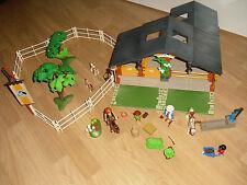 Playmobil - 3120 Reiterhof + Erweiterung 7598 komplett + BA, OVP, Rarität