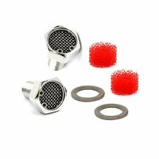 Billet Harley Breather Bolt Filter Kit for Big Twin Softail Dyna Touring CVO