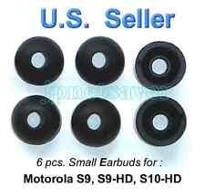6 small Motorola S9 S9-HD S10-HD replacement earbuds - Motorokr eargel eartips