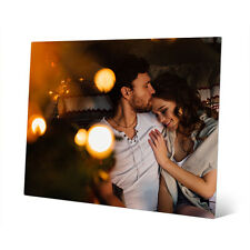 8x10 Your Picture - Photo - Art Custom Printed on Metal with Mounting Blocks