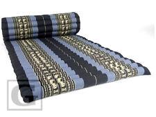 Thai Jumbo Size Roll Up Mat Fold Out Mattress Cushion Day Bed Camping Kapok 100%