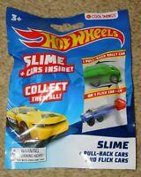 HOT WHEELS SLIME FLICK CAR / PULL BACK CAR BLIND BAG (New In Package)