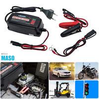 Chargeur de batterie de moto de voiture 12V 5A complètement automatique 15-150AH